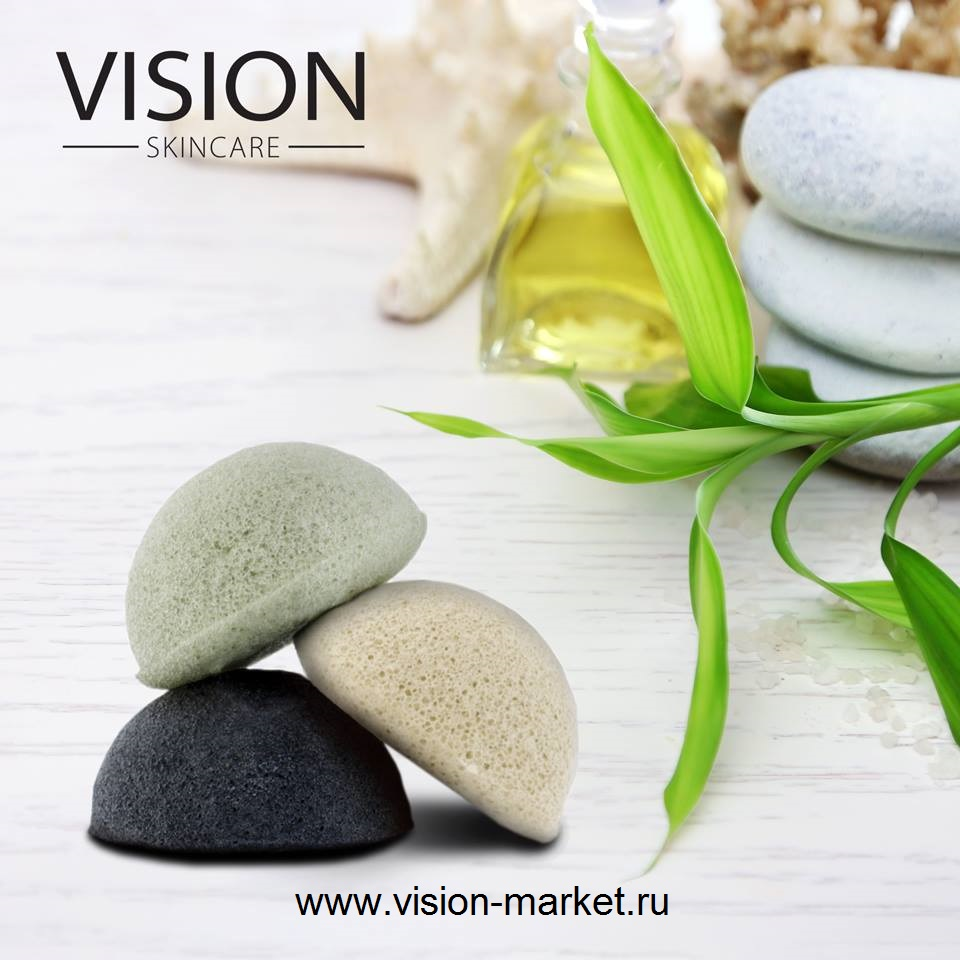 VISION-Skincare_Спонж для сухой кожи Sponge